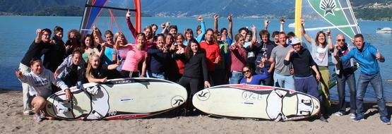 Windsurf Camp Woche 1
