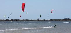 Neues Camp: Kite Surfen
