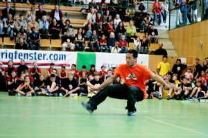 2004 bot die Projektwoche bereits sechs Camps an: Basketball, Fussball, Volleyball, Streetdance, Cheerleading und Rap.