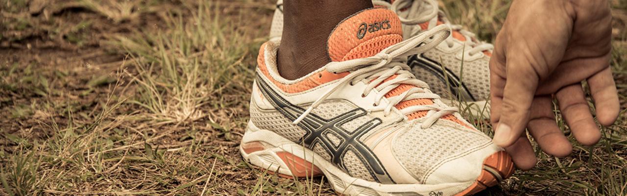 Deine Schuhe passen haargenau